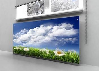 Стеклянные экраны для батареи